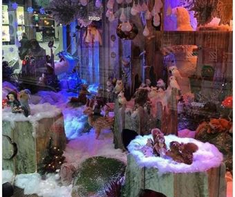 Stockmann's Christmas window, Helsinki